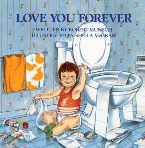 Love You Forever by Robert Munsch Book Cover