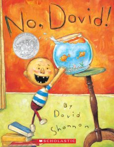 No, David by David Shannon Book Cover