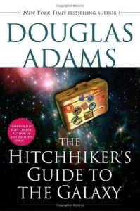 The Hitchhiker's Guide to the Galaxy - Cover